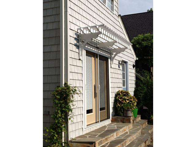 1 - Door Pergola installed by Bay Haven Landscape, VA - Doors €� ArborOriginal