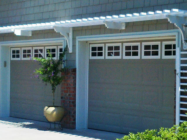 Pergola Doors Eyebrow Pergola Plan Above The Garage Doors