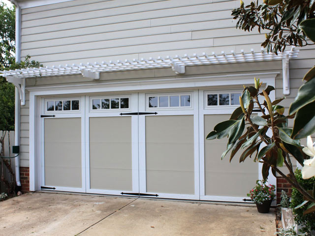 Double Car, One Door. Garage Pergola ... - Double Car, One Door – ArborOriginal