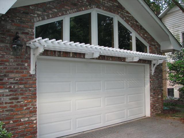 garage door arborDouble Car One Door  ArborOriginal