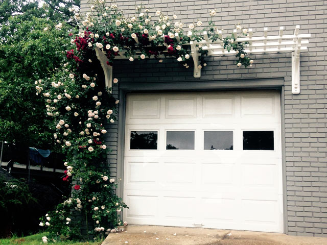 build this how to nice over looking pergola old a trellis house door garage