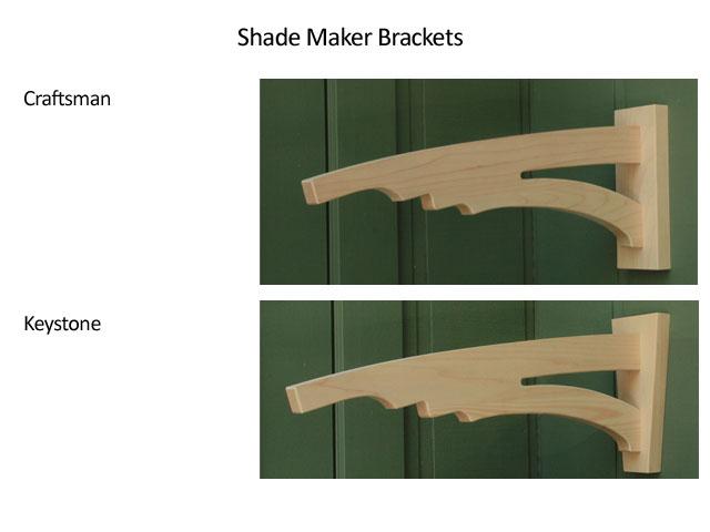 Shade Maker Brackets
