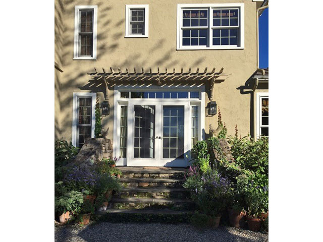 French Door Pergola